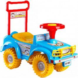 Teddies auto Jeep modré