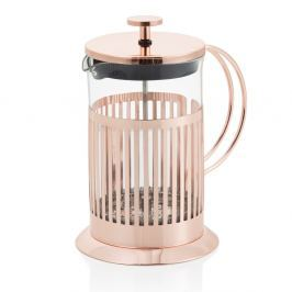 French press na čaj a kávu Brandani Rose Gold, 600 ml